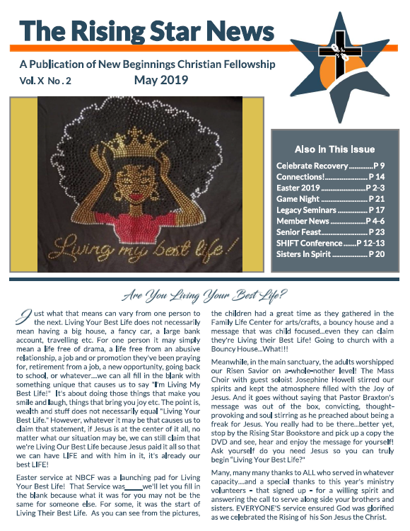 May Newsletter